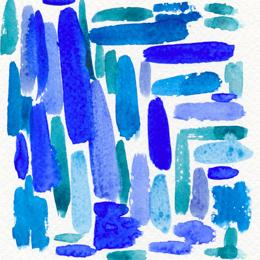 Синий – настойчивый, жесткий, шагающий…