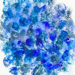 Синий – шуршащий, шершавый, сухой, раздраженный…