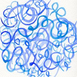 Синий – играющий, быстрый, петляющий, зажигательный…