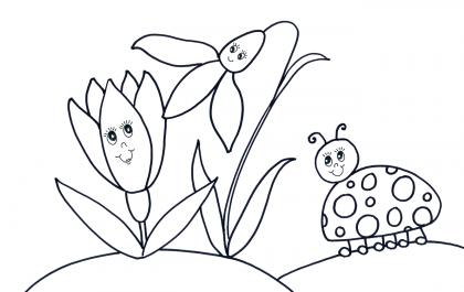 Онлайн раскраски для детей с творческими заданиями от Брашечки